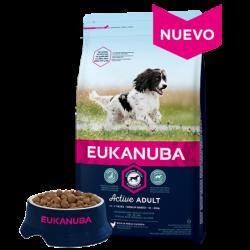 Eukanuba Adulto Razas Medianas con Pollo 15+3 KG
