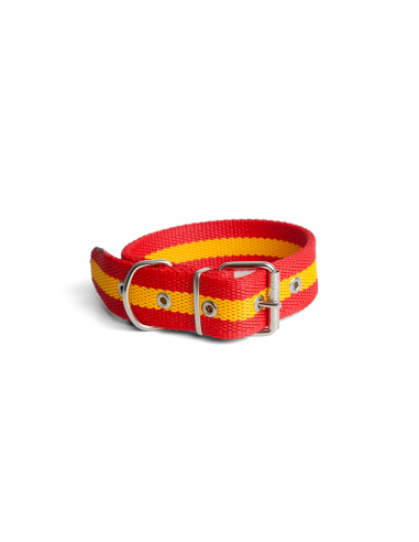 collar-nylon-perros-bandera-españa