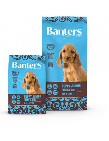 Banters-Puppy-Junior-Cordero-Arroz-pienso-alimentación-perros