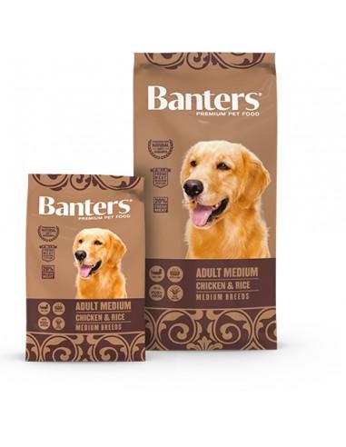 Banters-Adulto-Medium-Pollo-Arroz-pienso-alimentación-perros