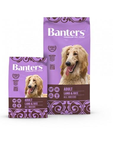 Banters-Adulto-Cordero-Arroz-alimentación-pienso-perros