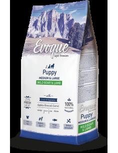Evoque-Puppy-Medium-Larg- Wild-Boar-Lamb-perros-alimentacion-carne-fresca-natural