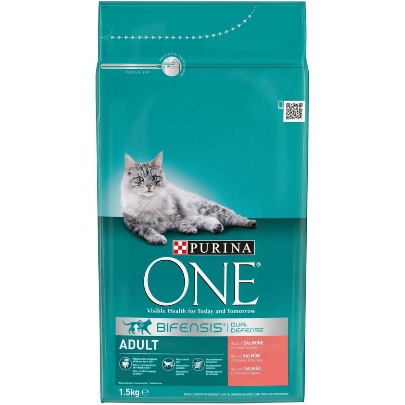 Purina ONE Gato Adulto Rico en Salmón