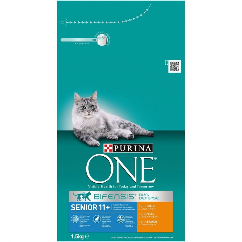 Purina ONE Senior 11+ Rico en Pollo